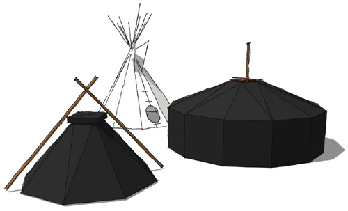 tipi versus kohte und jurte jurtenland zelte mit feuer im herzen. Black Bedroom Furniture Sets. Home Design Ideas