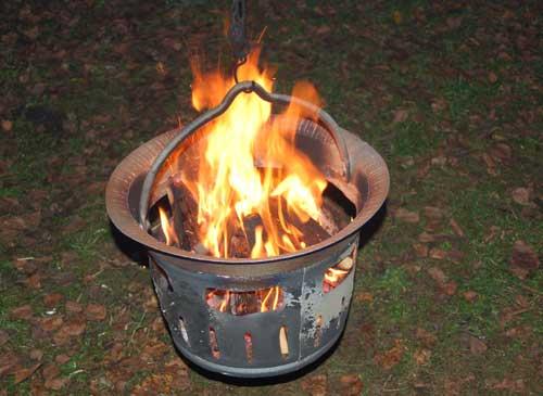 der feuerkorb | jurtenland - zelte mit feuer im herzen!, Garten und erstellen