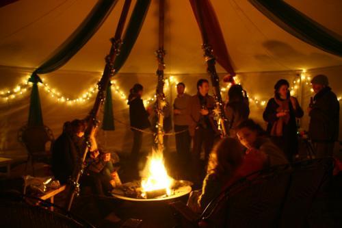 Eine Jurte F R Die Christmas Party Jurtenland Zelte