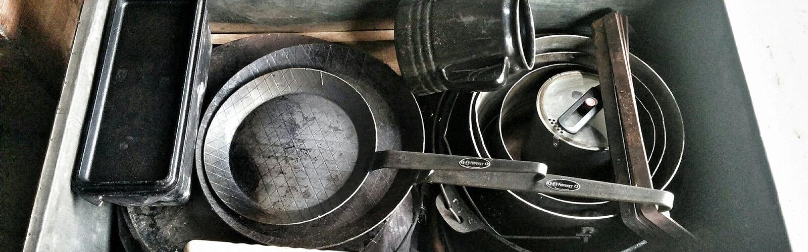 Ein gute gefüllte Kochkiste